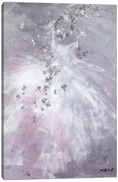 Lavender Dreams Canvas Art Print