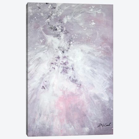 Lavender Fancy Canvas Print #DEB22} by Debi Coules Art Print