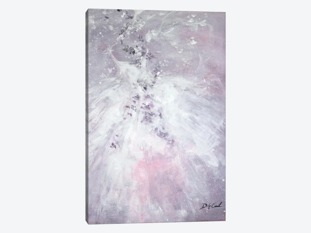 Lavender Fancy by Debi Coules 1-piece Canvas Artwork