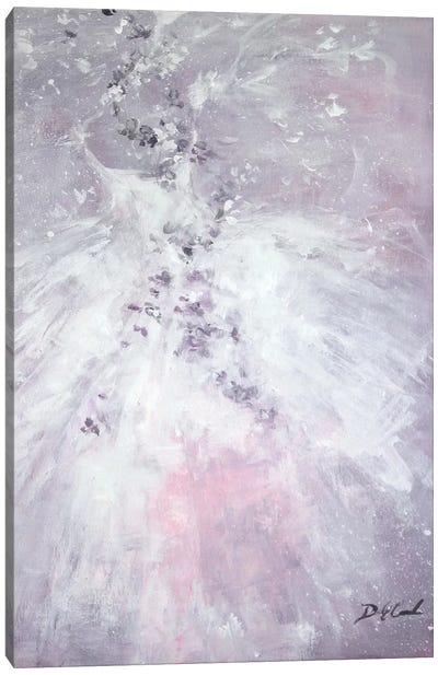 Lavender Fancy Canvas Art Print