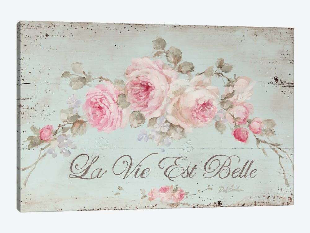 Life Is Beautiful by Debi Coules 1-piece Canvas Print