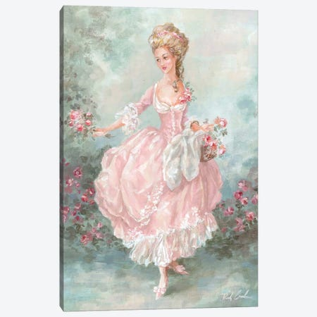 Lilliana Canvas Print #DEB24} by Debi Coules Canvas Artwork