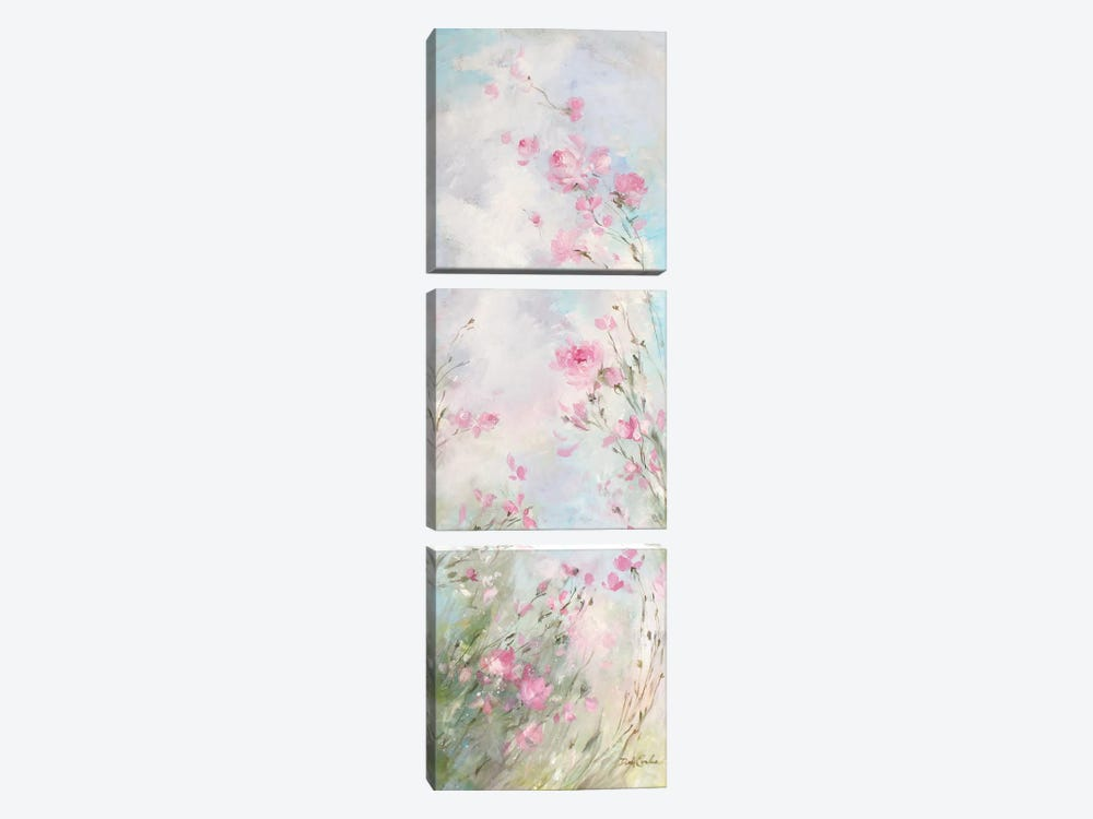 Morning Meadow by Debi Coules 3-piece Canvas Art