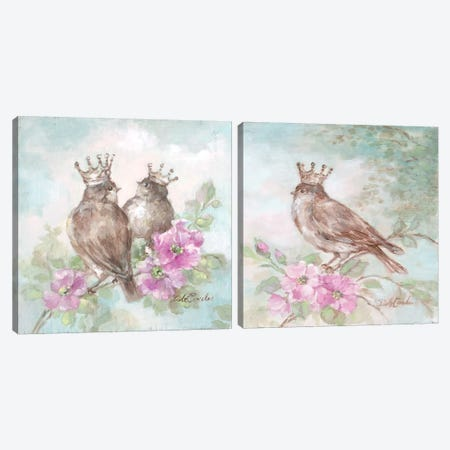 French Crown Diptych Canvas Print Set #DEB2HSET002} by Debi Coules Canvas Art Print