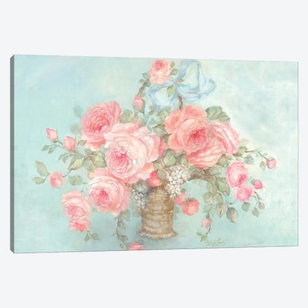 Mother's Roses Canvas Print #DEB30} by Debi Coules Canvas Artwork