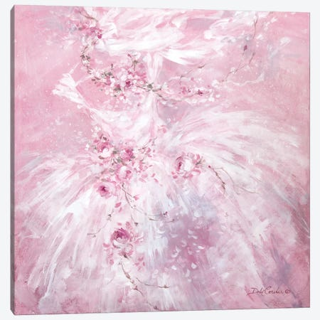 Pink Dreams Canvas Print #DEB34} by Debi Coules Canvas Print