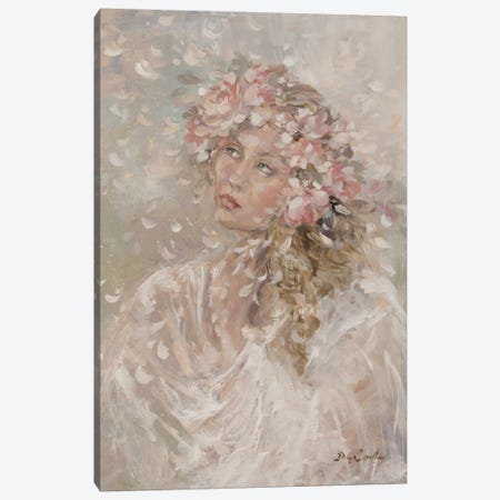 Prairie Bride Canvas Print #DEB35} by Debi Coules Canvas Art Print