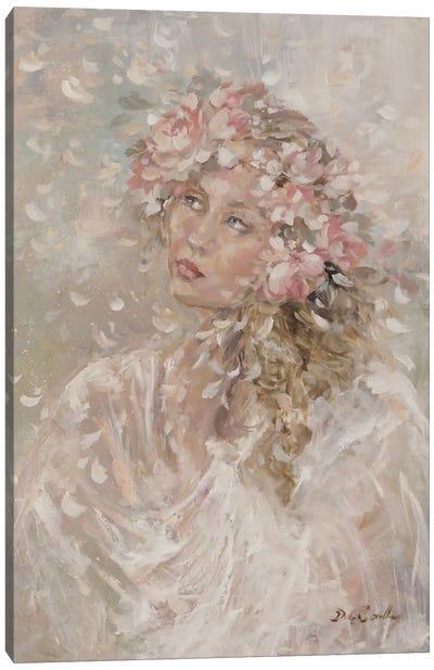 Prairie Bride Canvas Print #DEB35