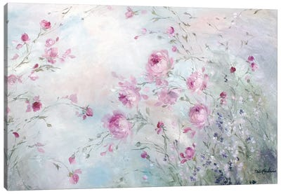 Rose Meadow Canvas Art Print