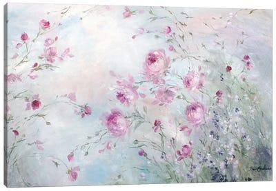 Rose Meadow Canvas Art Print