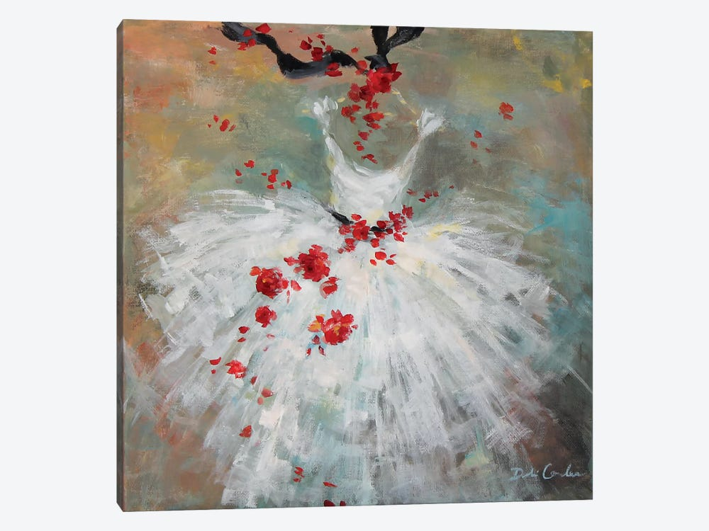 Rouge II by Debi Coules 1-piece Canvas Art Print