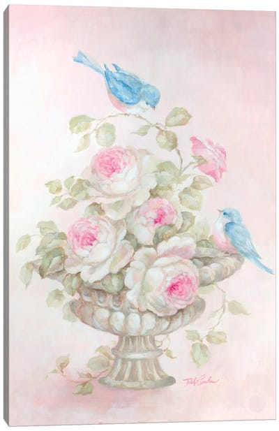 Sweet Rose Song Canvas Art Print