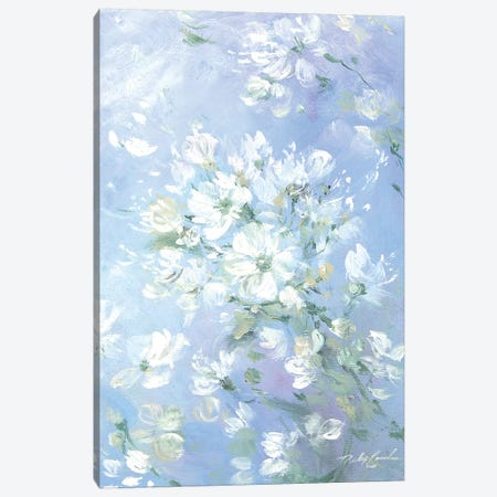 Sweet Wild Roses Canvas Print #DEB45} by Debi Coules Canvas Wall Art