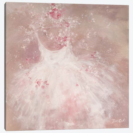 Tutu Breeze Canvas Print #DEB47} by Debi Coules Canvas Artwork
