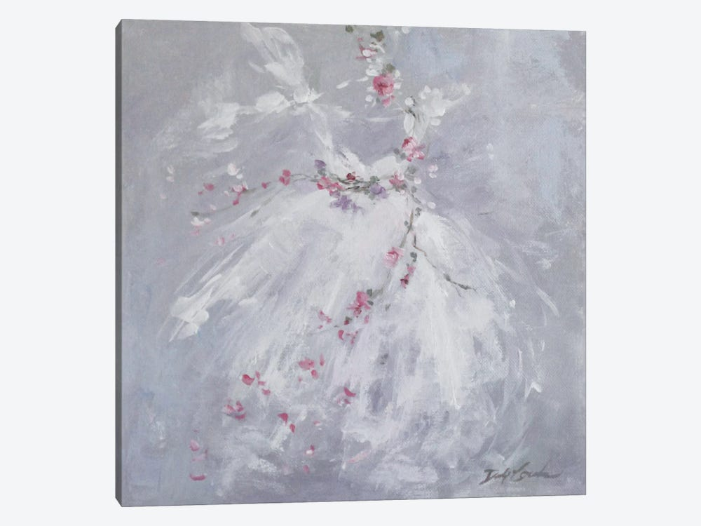 Tutu Mist by Debi Coules 1-piece Canvas Artwork