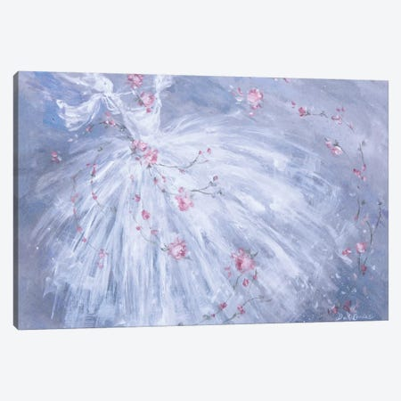 Dance De Fleurs Canvas Print #DEB4} by Debi Coules Canvas Art
