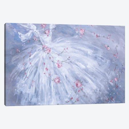 Dance De Fleurs 3-Piece Canvas #DEB4} by Debi Coules Canvas Art