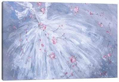 Dance De Fleurs Canvas Art Print