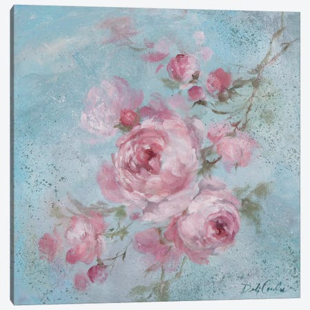 Winter Rose I Canvas Print #DEB54} by Debi Coules Canvas Print