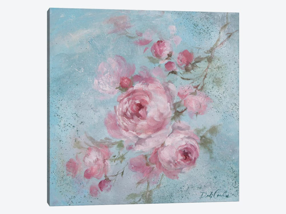 Winter Rose I by Debi Coules 1-piece Canvas Art Print