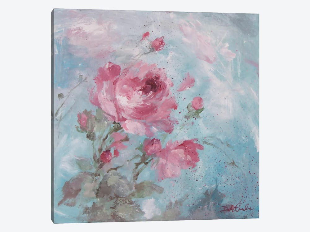 Winter Rose II by Debi Coules 1-piece Canvas Art