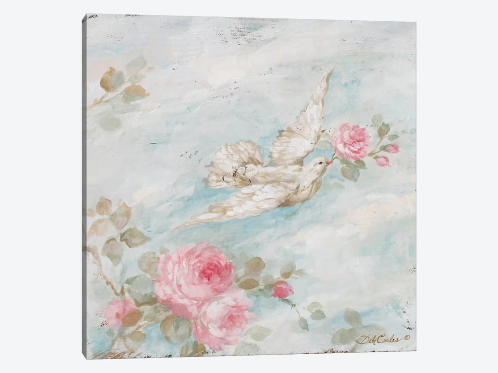 Peace by Debi Coules 1-piece Canvas Wall Art
