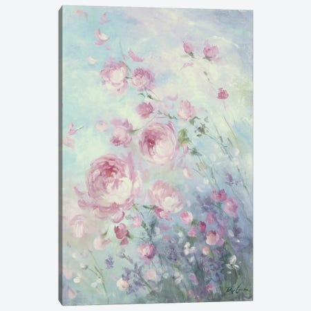 Dancing Petals Canvas Print #DEB5} by Debi Coules Canvas Artwork