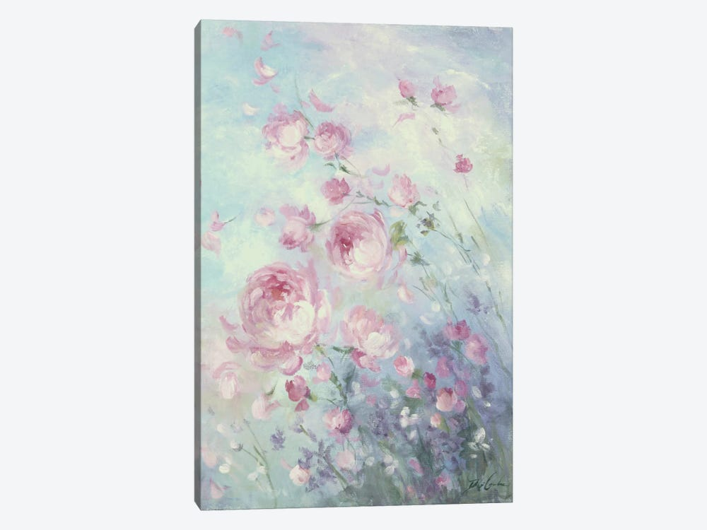 Dancing Petals by Debi Coules 1-piece Canvas Wall Art