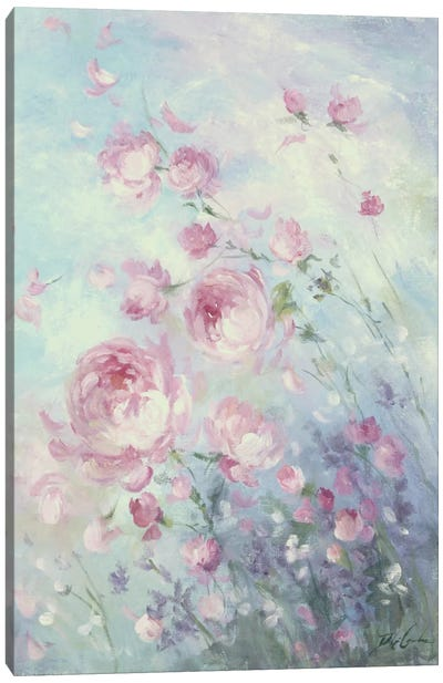 Dancing Petals Canvas Art Print