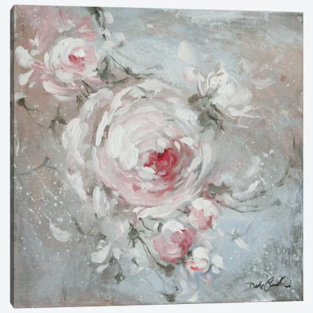 Blush I Canvas Print #DEB65} by Debi Coules Canvas Artwork