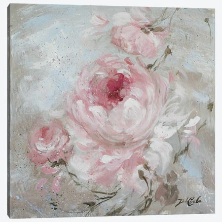 Blush II Canvas Print #DEB66} by Debi Coules Canvas Art