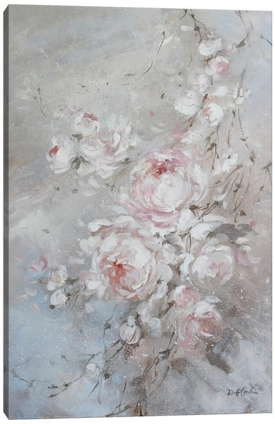 Blush Rose Canvas Art Print