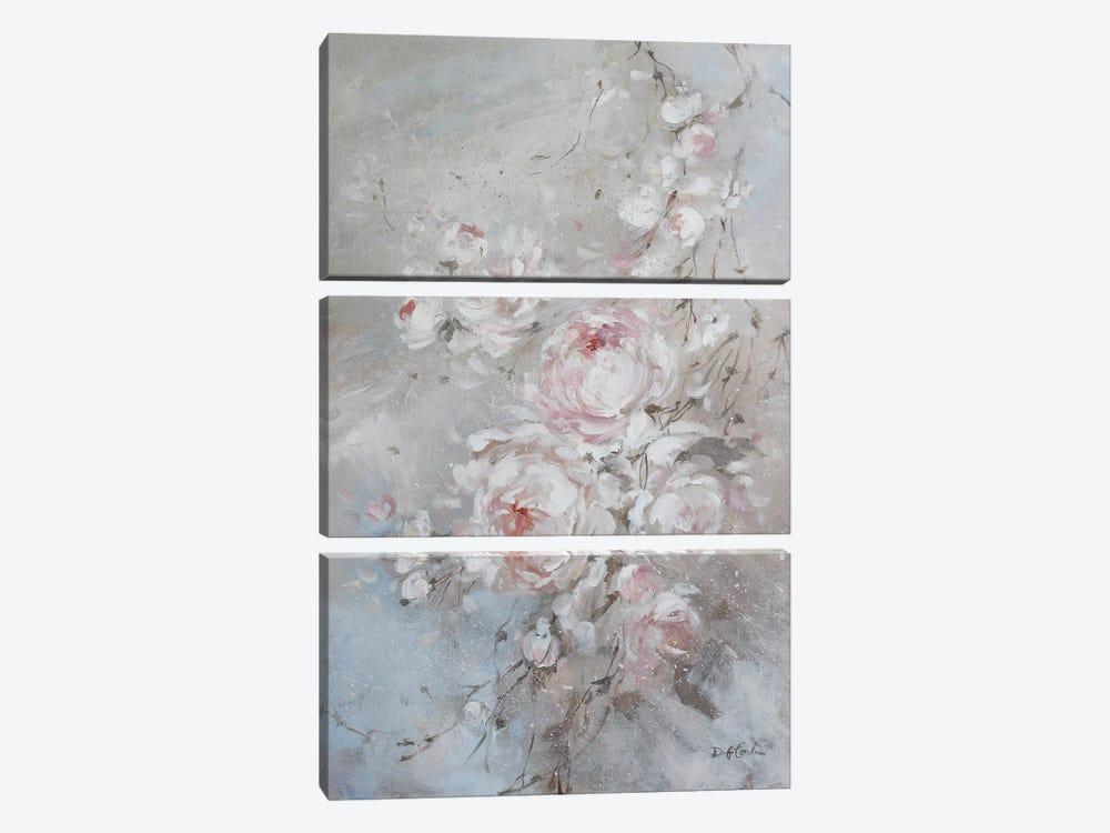 Blush Rose by Debi Coules 3-piece Art Print