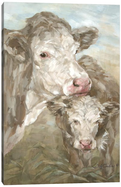 Moo Daze Canvas Art Print