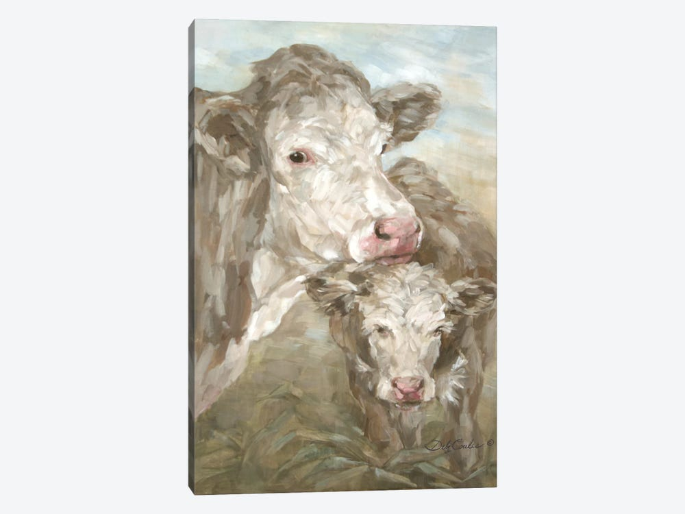 Moo Daze by Debi Coules 1-piece Canvas Wall Art