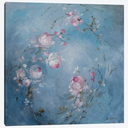 Moonlight Rose Canvas Print #DEB69} by Debi Coules Canvas Art Print