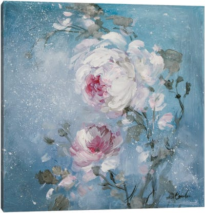 Twilight Rose I Canvas Print #DEB73