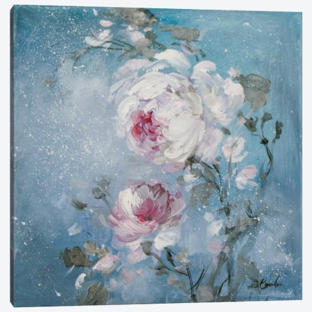 Twilight Rose I Canvas Print #DEB73} by Debi Coules Canvas Art