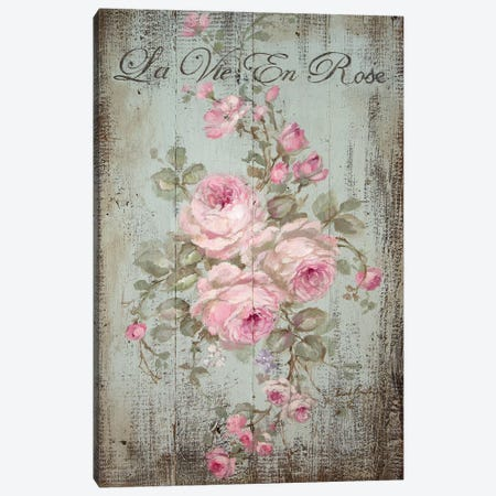 La Vie En Rose Canvas Print #DEB76} by Debi Coules Canvas Print
