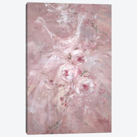 Rose Dance I Canvas Print #DEB77} by Debi Coules Canvas Print
