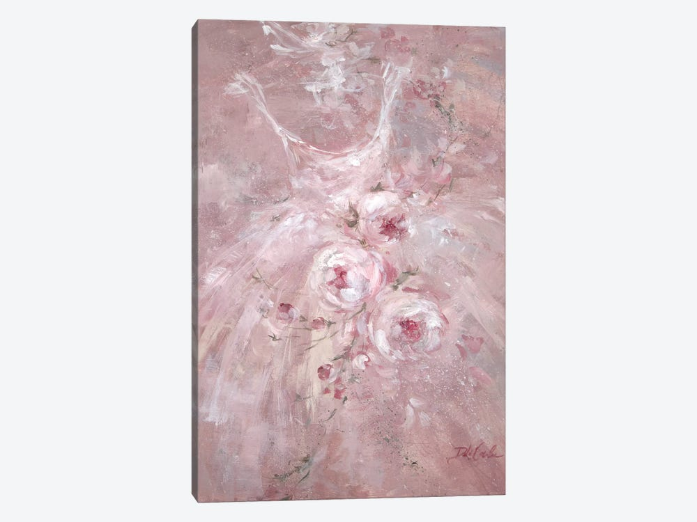 Rose Dance I by Debi Coules 1-piece Canvas Wall Art