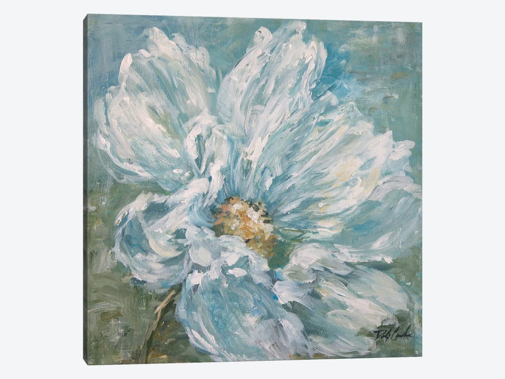 Cosmos By The Sea I by Debi Coules 1-piece Canvas Print