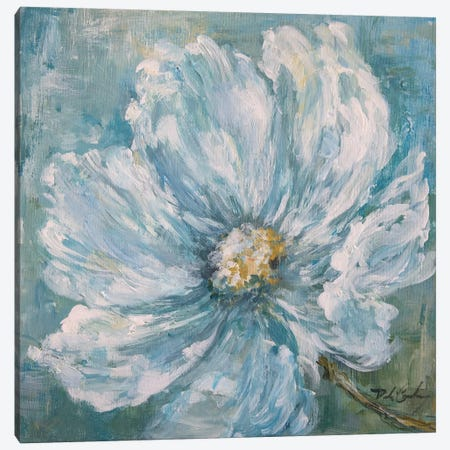 Cosmos By The Sea II Canvas Print #DEB79} by Debi Coules Canvas Artwork