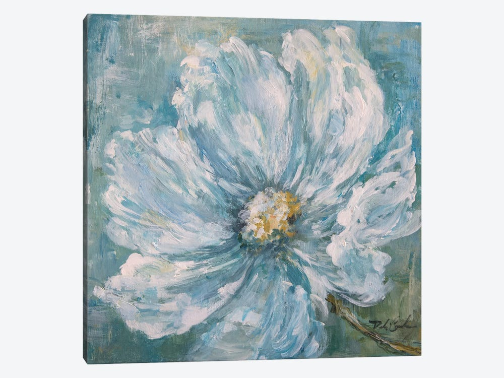 Cosmos By The Sea II by Debi Coules 1-piece Canvas Art