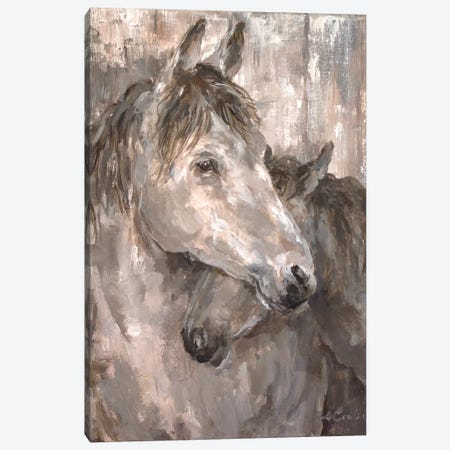 Tender Farmhouse Horse Canvas Print #DEB81} by Debi Coules Canvas Print