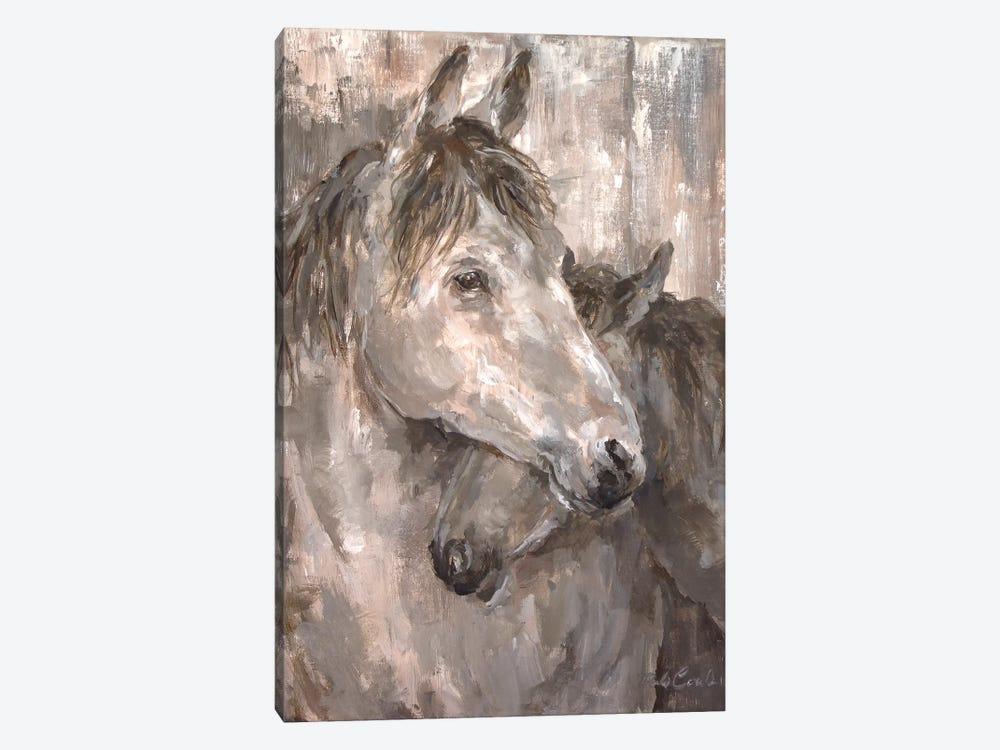 Tender Farmhouse Horse by Debi Coules 1-piece Art Print