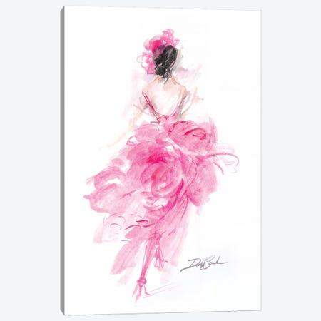 Parisian Pink  Canvas Print #DEB94} by Debi Coules Art Print