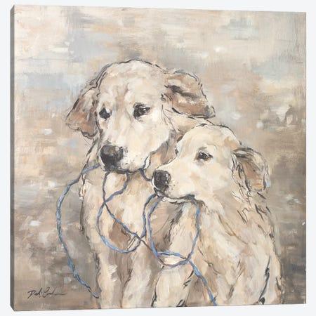 Family Canvas Print #DEB95} by Debi Coules Art Print