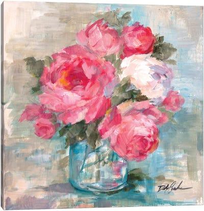 Summer Roses I Canvas Art Print