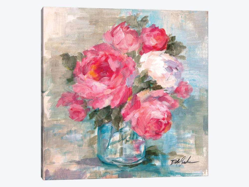 Summer Roses I by Debi Coules 1-piece Art Print